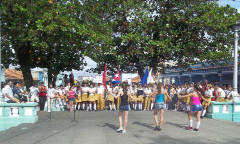 La danza formó parte de las actividades en homenaje a martí en Pinar del Río
