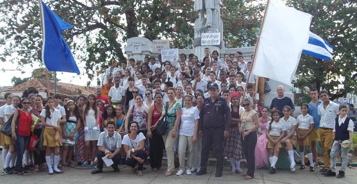 Celebramos el aniversario de nacimiento de José Martí en Pinar del Río