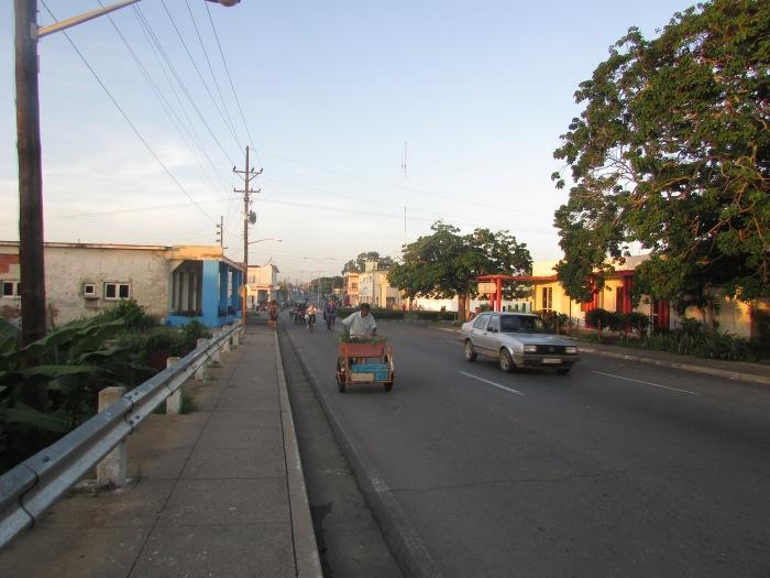 Salida de Pinar del Río, rumbo al reparto Hermanos Cruz
