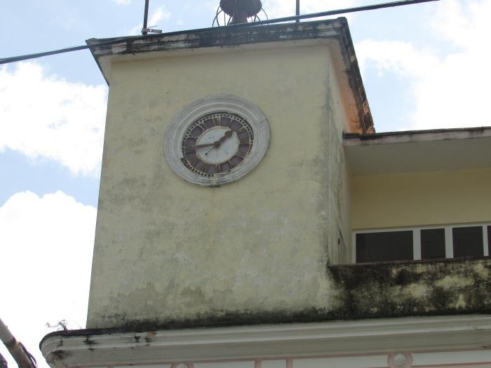 Reloj del hotel Globo en Pinar del Río