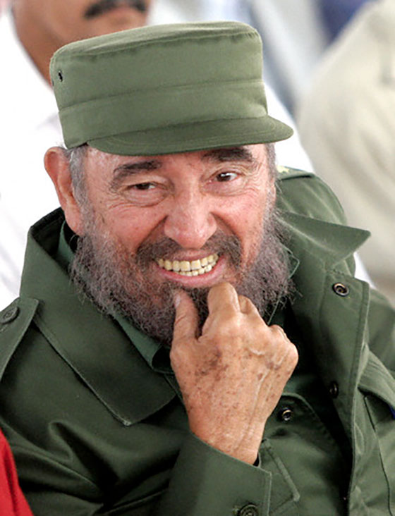 Rostros de Fidel
