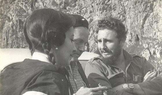 Fidel Castro Ruz con Alicia Alonso en el Valle de Viñales en enero de 1960
